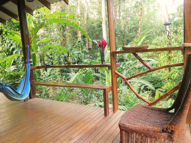Casa Lina 2 bedroom jungle ECOhouse - Puerto Viejo de Talamanca - House
