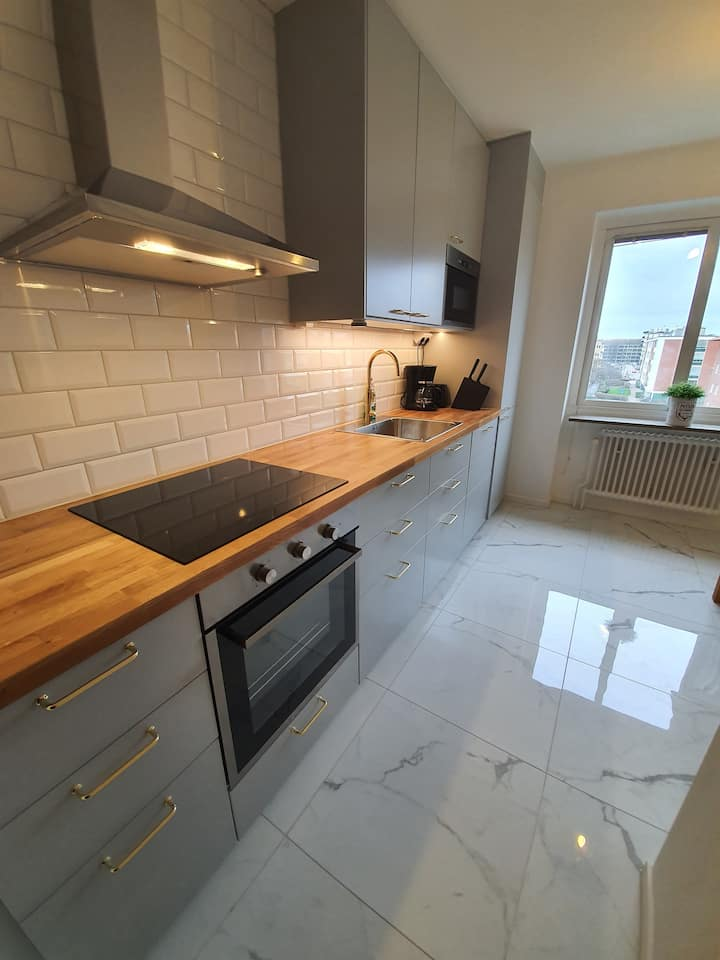 Cozy 4-room apartment in the heart of Malmoe