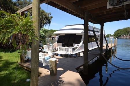Cozy Houseboat Destin/Ft. Walton - Enjoy Sunsets