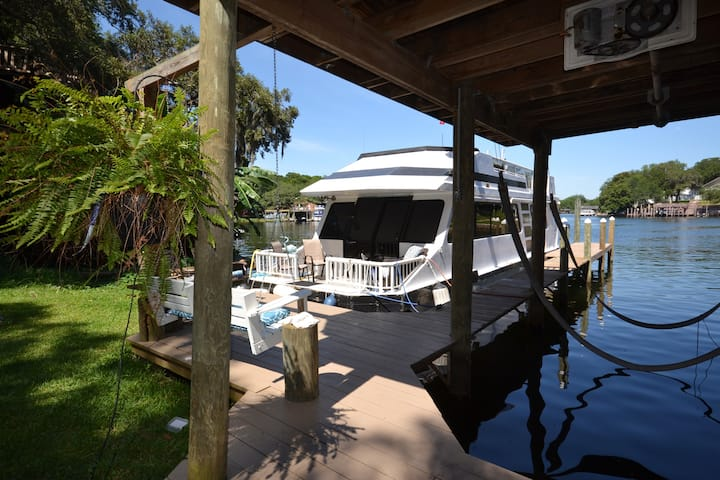 Cozy Houseboat Destin/Ft. Walton - Waterfront