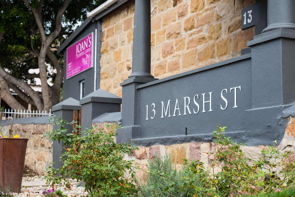 13 on Marsh situated next to Joan's Florist and The Coffee Club
