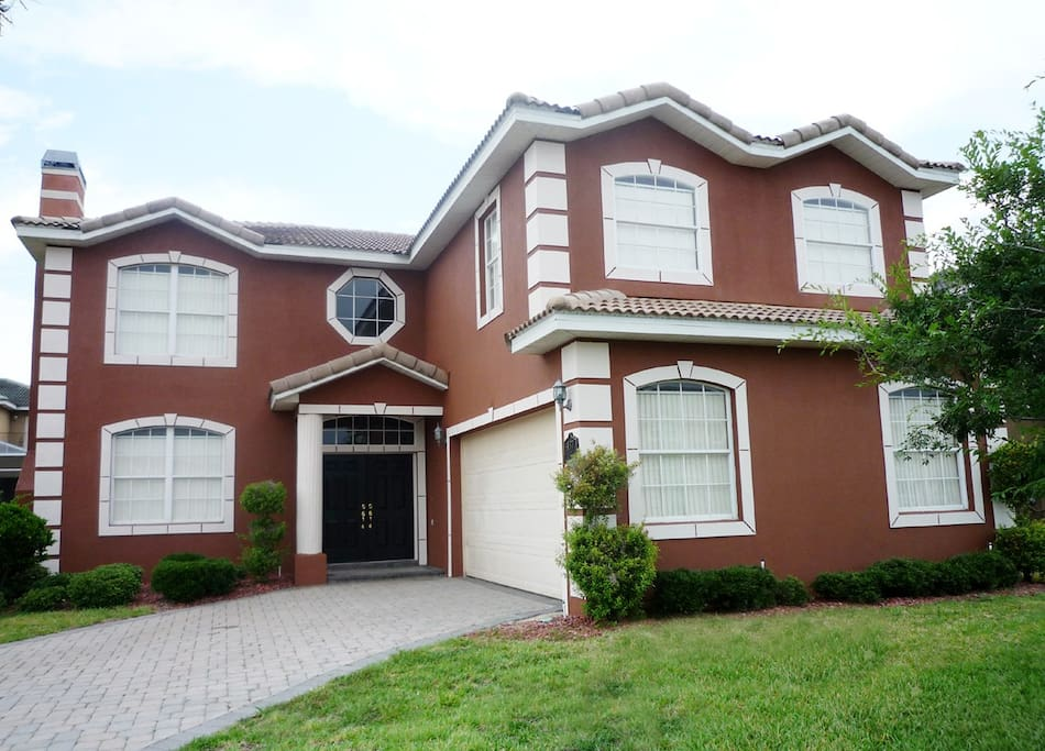 Our beautiful 6 bed/5 bath home with fully screened private pool