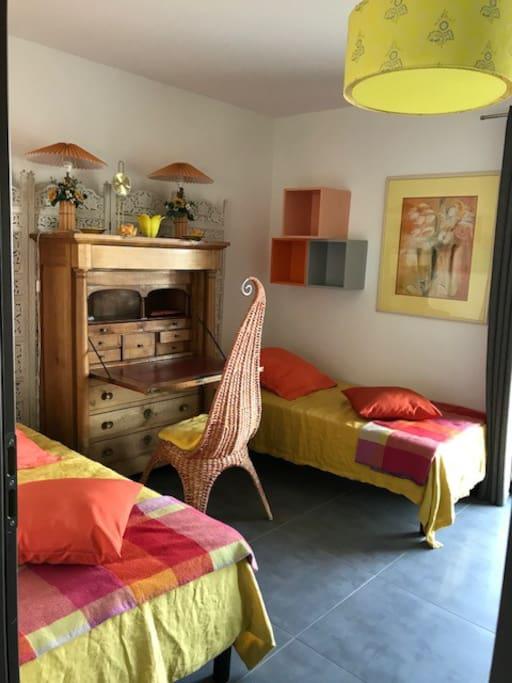 La chambre jaune Soleil