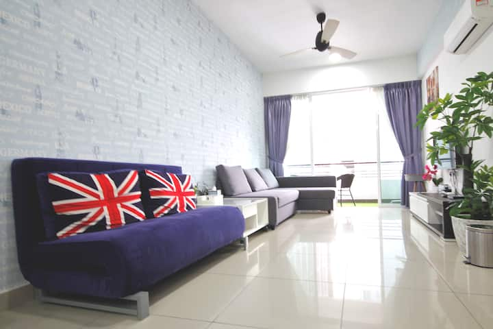 H2H - ài home @ Majestic Ipoh (8~10 Guests)