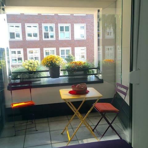 Absolut zentrales Studio & Fahrrad! - Erlangen - Appartement