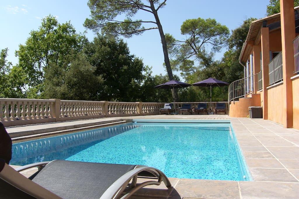 Villa Rosetta swimming pool