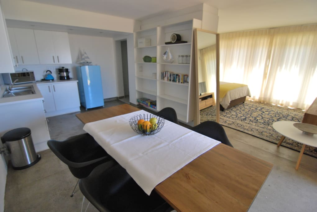 Open plan self-catering flatlet