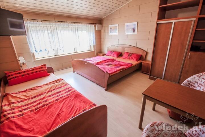 Pokój 4 osobowy/Room for 4