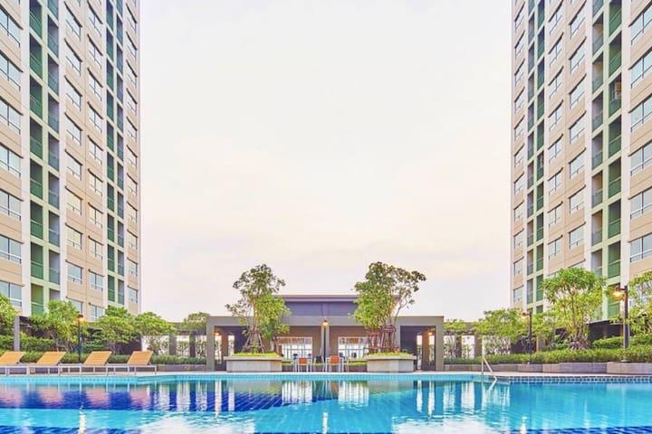 Lumpini Ville Nakhon In-Riverview/1 Bed Room BKK.9