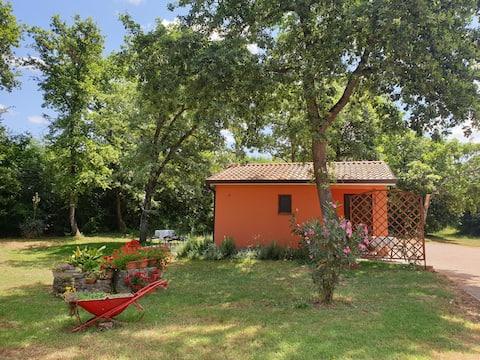 Garden & Studio House Lubiana near Novigrad