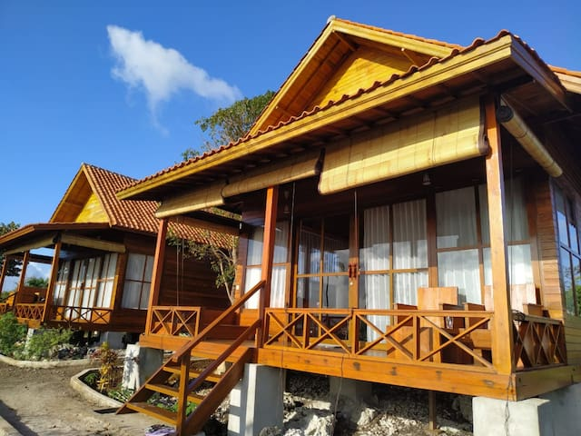 Beautifull spacious wooden cottage no. 1