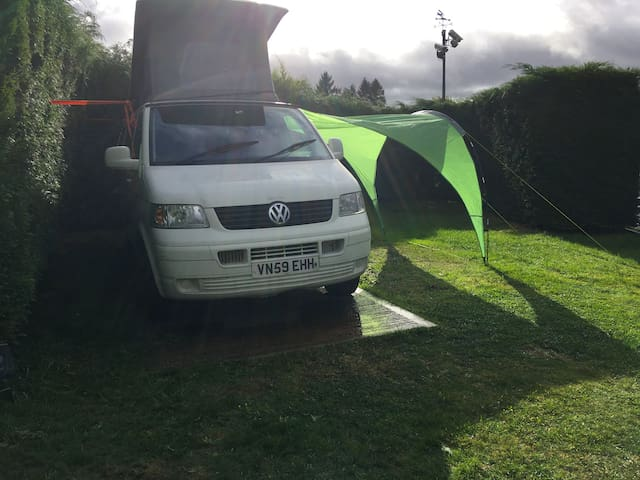 Glamping in our Cool Campervan