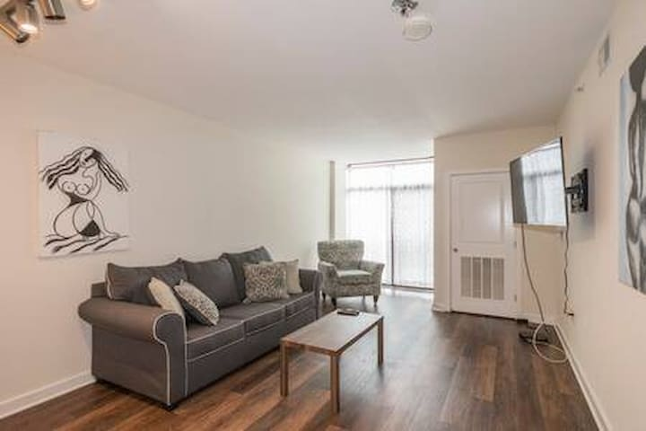 Trendy 1BDRM Washington Condo with Gym