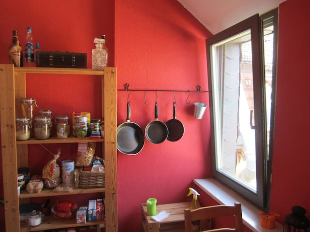 Gemütliche Maisonettewohnung // Cozy apartment - Drážďany - Podkroví