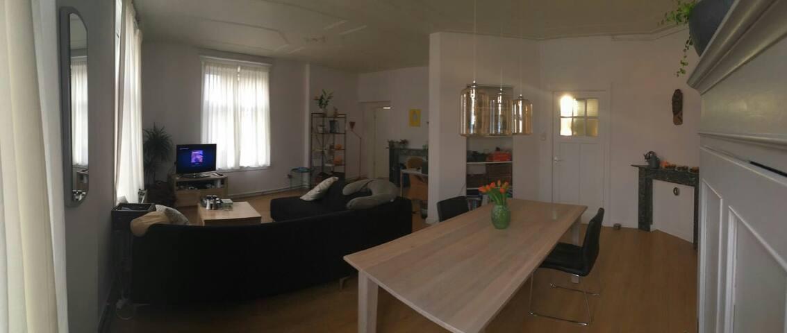 Ruim en rustig appartement nabij centrum/radboud