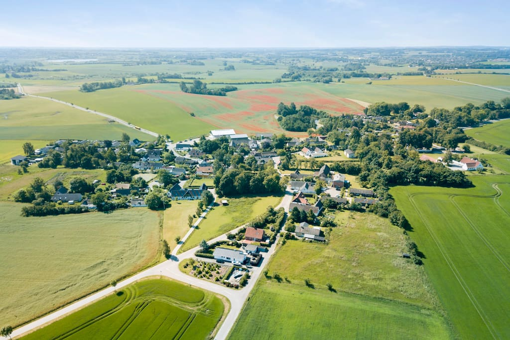 Herslev from above