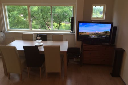 nice apartment, free parking, cleaning included - Amsterdam-Zuidoost - Lakás
