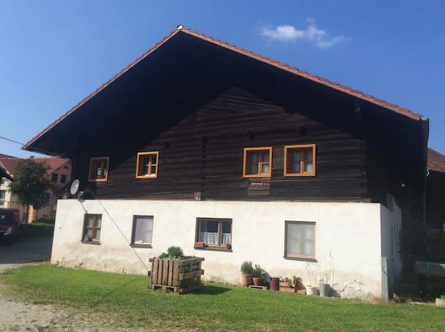 Zimmer in Bauernhaus mit Weiher am Waldrand - Wörth an der Donau - Hus
