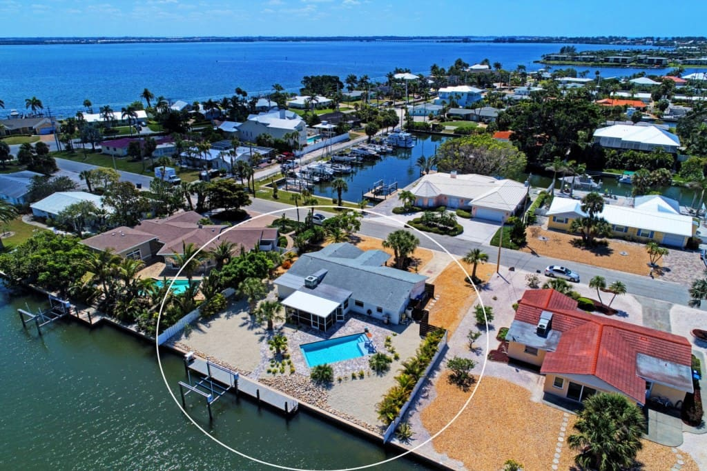 Villa Royale, located in the exclusive Key Royale Neighborhood of Holmes Beach, Anna Maria Island, F
