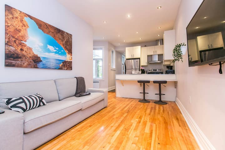 Spacious 4BR - Heart of Plateau Mont Royal