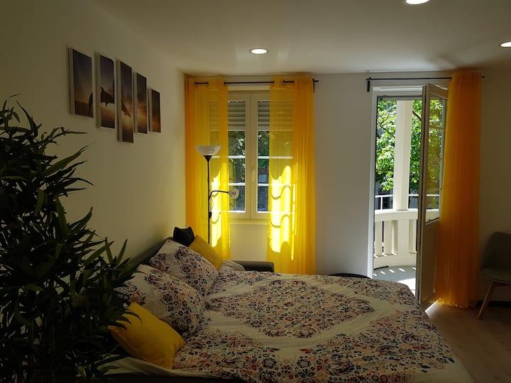 65 m² cosy, Orangerie, Institutions européennes