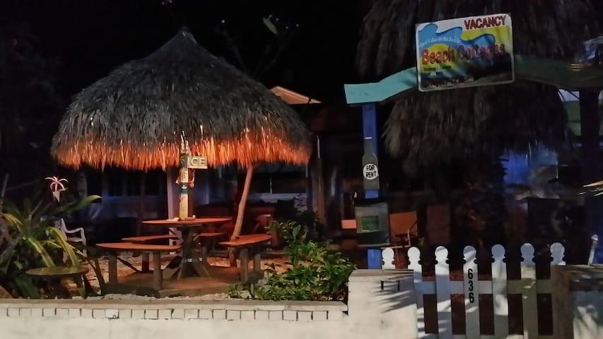 Tiki Cottage Sleeps 6, Pets OK,  Steps to Beach