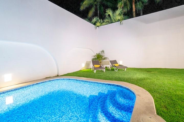 Villa con Alberca & BBQ