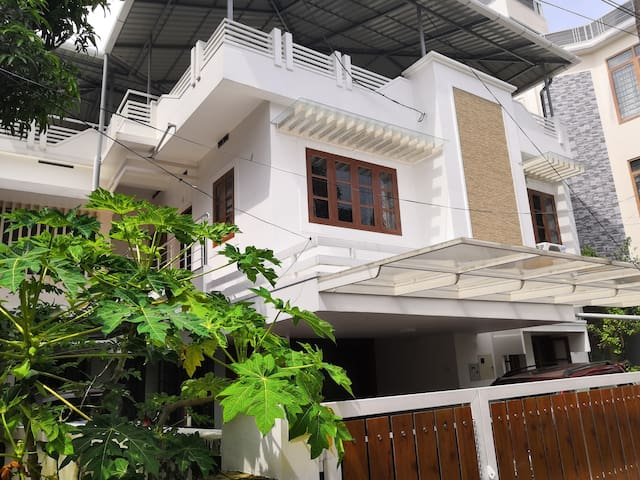 Peace Villa Centrally located Semi furnished House