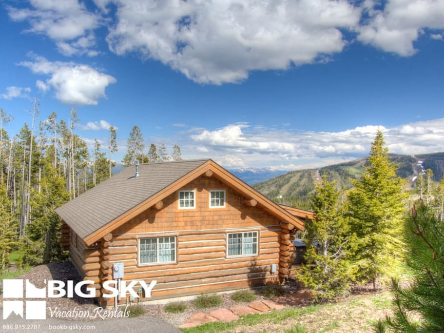 Big Sky Resort, Cowboy Heaven Cabin 15 Rustic Ridge, Exterior, 2