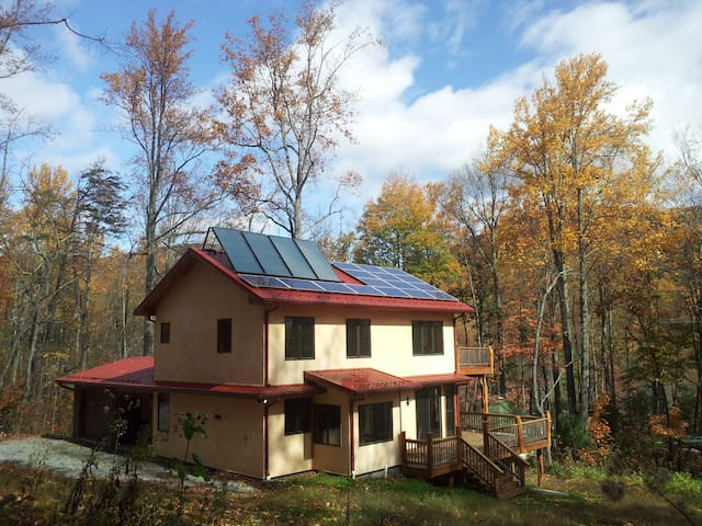 Mountain Eco Retreat near Asheville, Chimney Rock