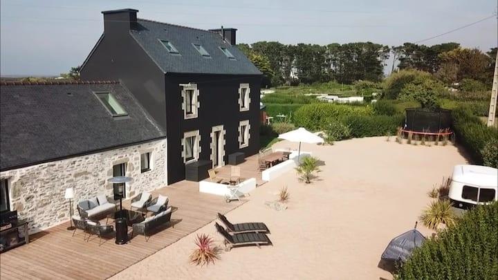 La Cabane des Dunes : California in Brittany