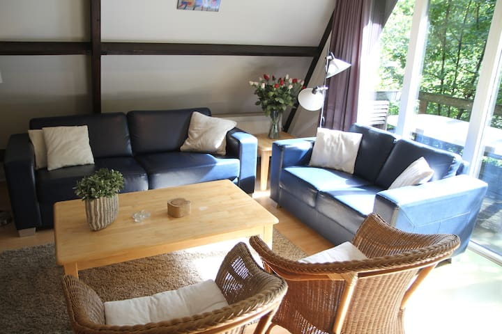 ARDENNES/DURBUY CHALET: CHARME+CONFORT+COMPLETE