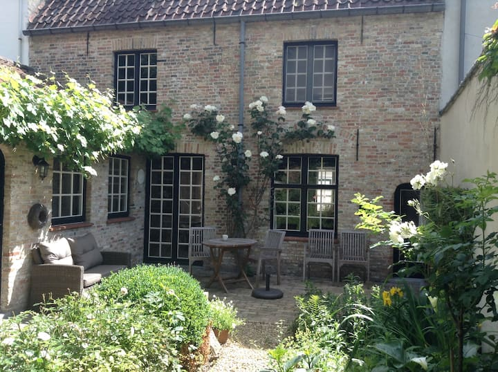 New on market: renovated medieval home with garden
