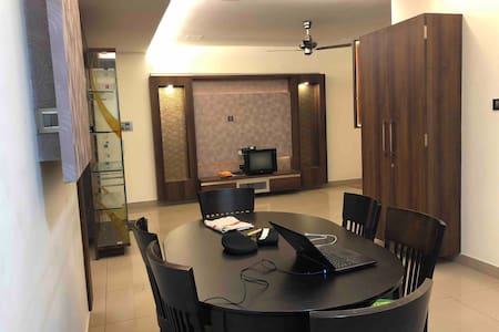 Fully furnished service apartments room
