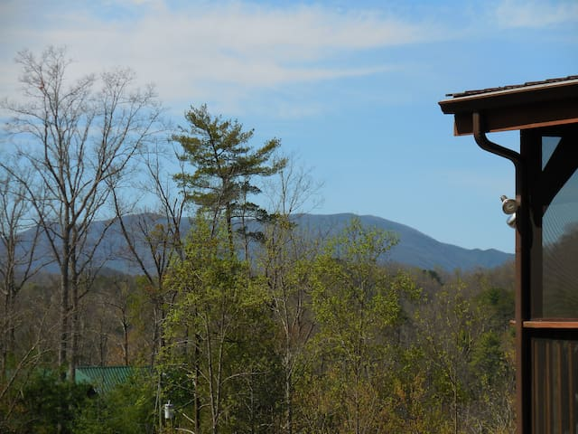 Spring or Winter View of Mount Le Conte