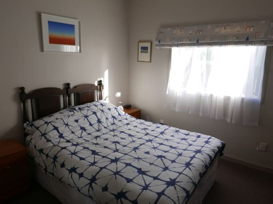 One of your bedrooms, spacious and tastefully decorated