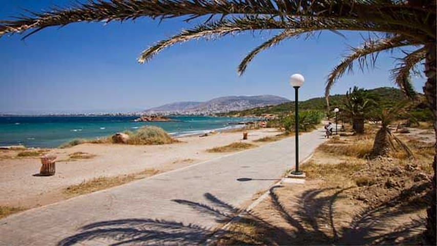 One minute from sea Athens Vouliagmeni apartment
