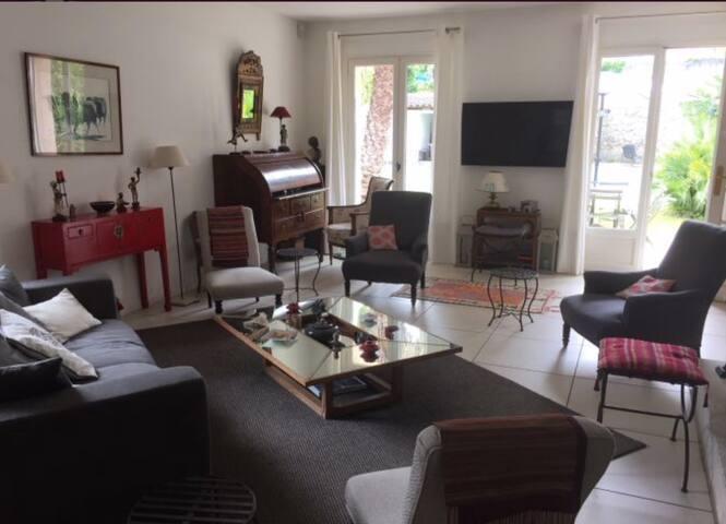 Jolie maison confortable et accueillante - Nîmes - Rumah