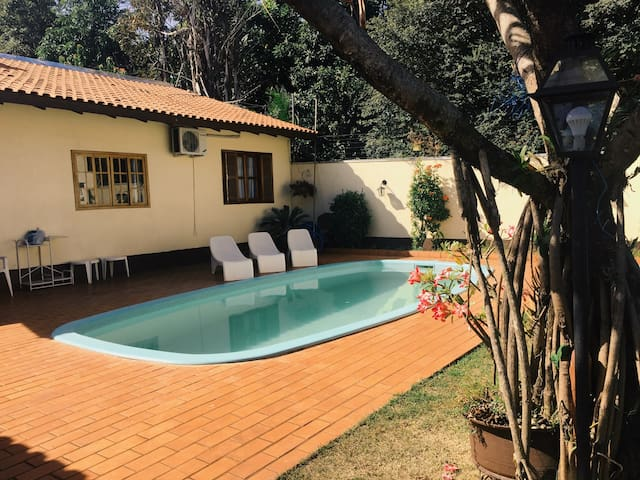 Private Studio w/ pool 5 min from the center