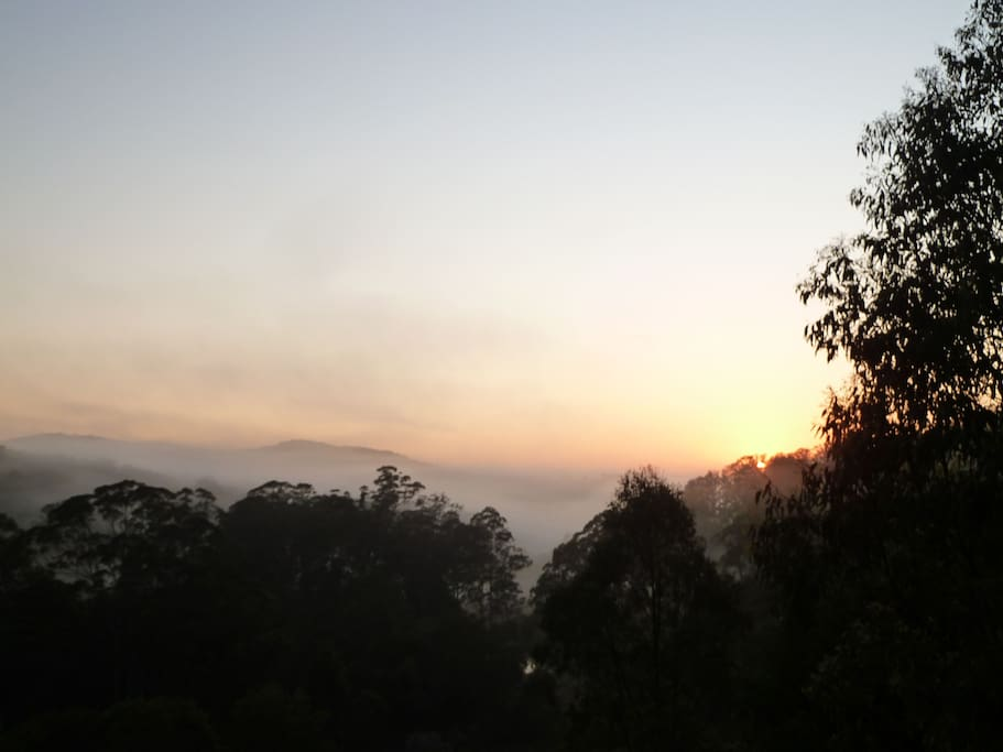 Awake to beautiful sunrises