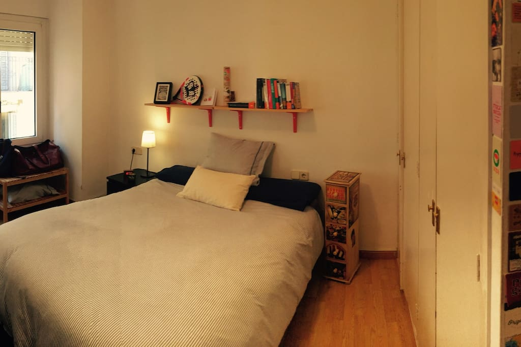 Private room, bed 1,35m