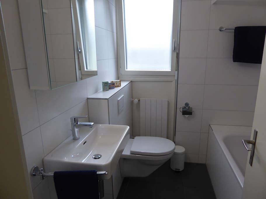 Badezimmer zur Alleinbenützung / Private Bathroom
