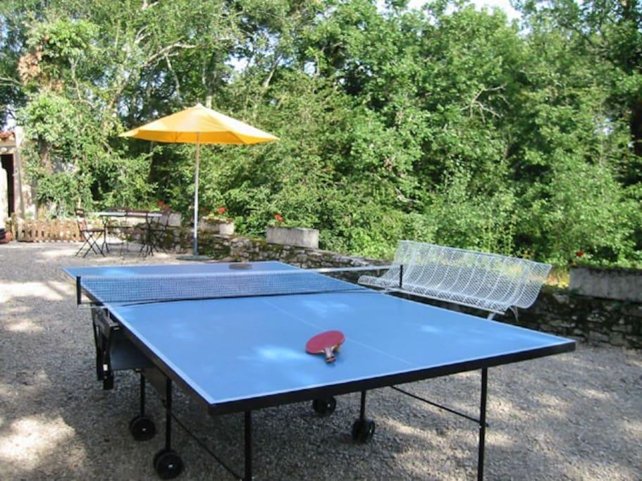 Table-tennis is always popular