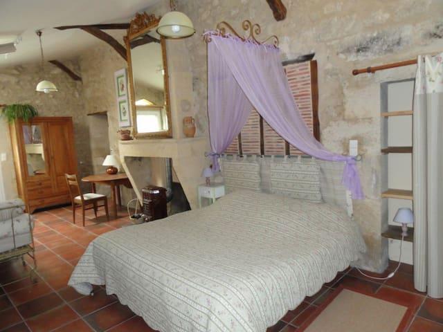 Chambres double/twin - Violettes ou Lavandes