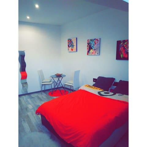 Chambre dans appartement 95m2 - Beaucourt - Byt