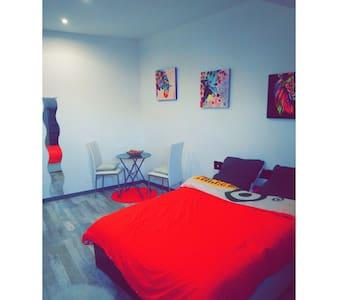 Chambre dans appartement 95m2 - Beaucourt