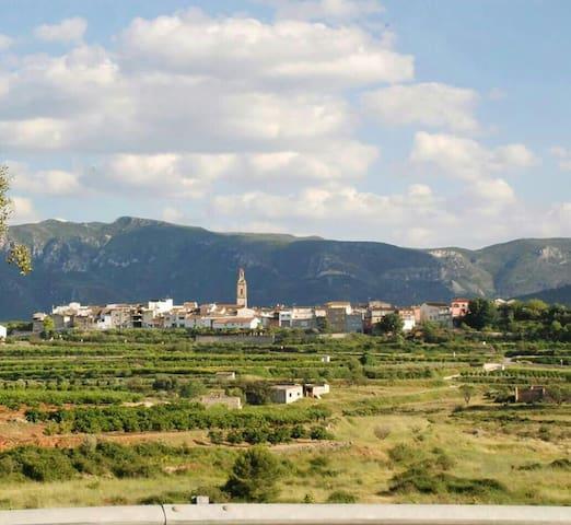 Auténtica casa de pueblo en la montaña - Benicolet