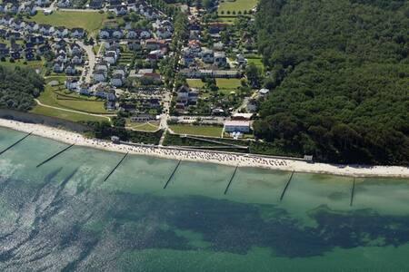Penthouse mit Meerblick und 50m zum Strand - Nienhagen
