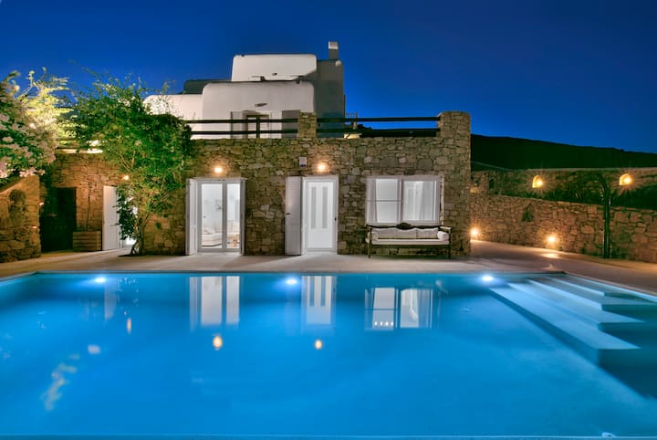 Villa Anatolia PRIVATE POOL, Lia Villas Mykonos