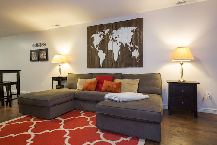 Cozy Cottonwood Basement Apartment - Cottonwood Heights - Wohnung
